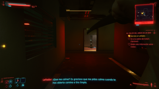 El combate a melé podría ser mejor, pero de vez en cuando apetece cortar alguna cabeza. - Cyberpunk 2077