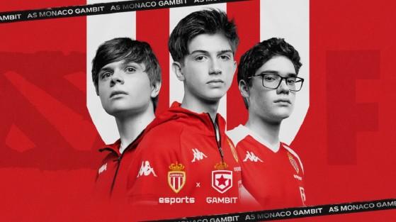 AS Monaco Gambit, el equipo de esports de origen ruso que acaba de anunciar el equipo de la Ligue 1