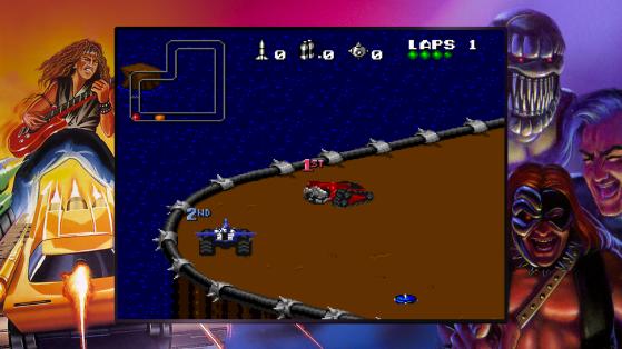 Rock N Roll Racing en Blizzard Arcade Collection - Millenium