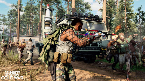Black Ops Cold War: Modo Outbreak - Call of Duty: Black Ops Cold War