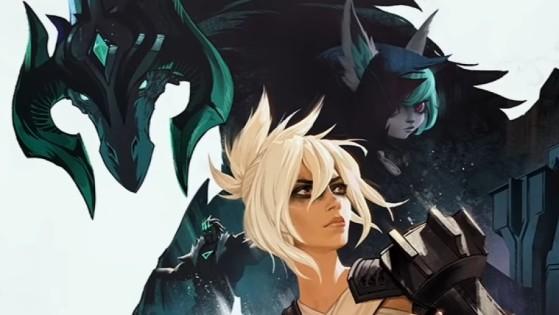 El nuevo campeón aparece en la parte derecha de la imagen. - League of Legends