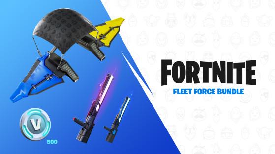 Fortnite: Fleet Force Bundle, cómo conseguirlo en Nintendo Switch y qué tiene
