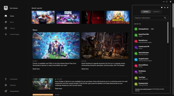 Epic Games Store cumple su palabra poco a poco y añade funciones casi obligatorias en una tienda