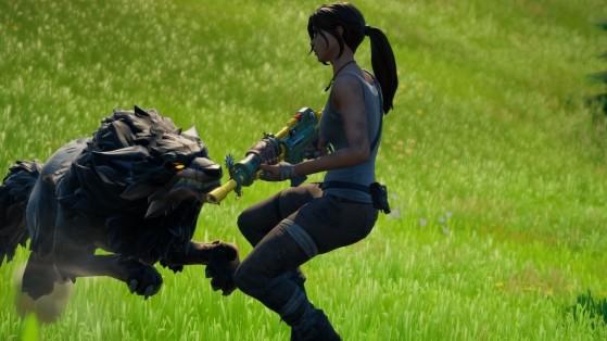 Fortnite: Recolecta un diente de lobo, un colmillo de jabalí y tres plumas de pollo para Raz