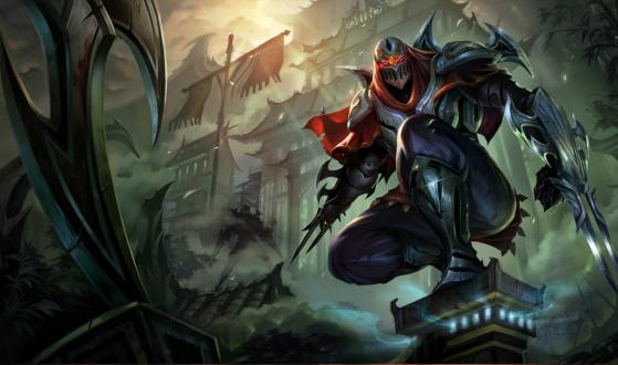 Zed es un campeón trampa tras sus mejoras - League of Legends