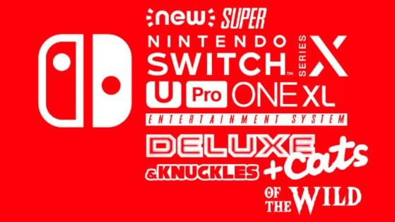 Nintendo Switch Pro: Los usuarios imaginan el logo de la nueva consola, con hilarante resultado