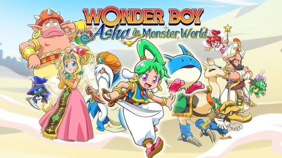 Análisis de Wonder Boy: Asha in Monster World para PS4 y Switch - Magia, mazmorras y plataformas