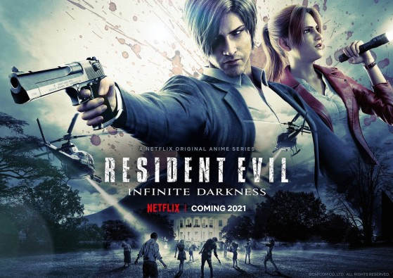 Resident Evil: Oscuridad Infinita, así empieza la serie de Netflix con Leon y Claire Redfield