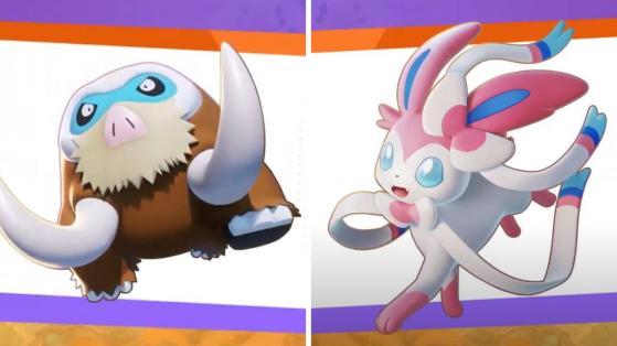 Pokémon Unite: Sylveon y Mamoswine serán los nuevos personajes jugables del MOBA