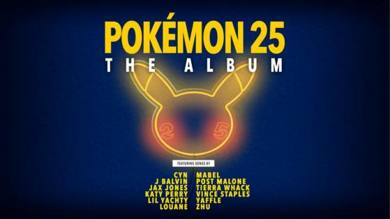 Pokémon Album 25: fecha de lanzamiento, lista de artistas y toda la información