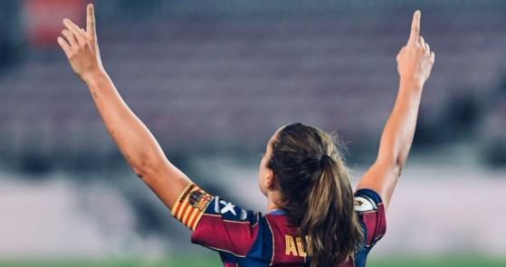 Alexia Putellas, mejor futbolista de Europa, vacila a FIFA 22 por su ausencia entre las 22 mejores
