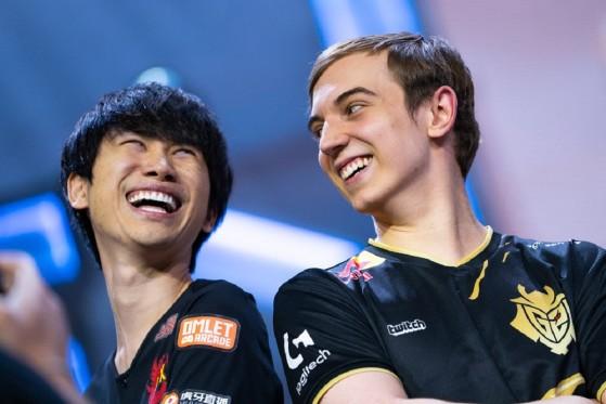 Worlds 2019: Caps y DoinB, ¿por qué todos los jugones sonríen igual?