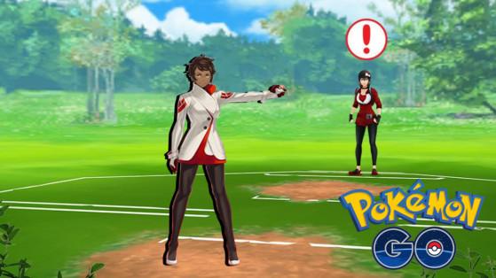 Pokémon GO PvP, combate contra Candela, entrenamiento