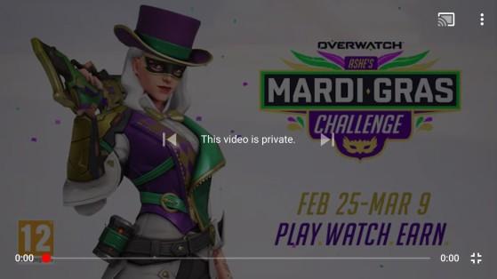 Overwatch: Desafío de Ashe Mardi Gras