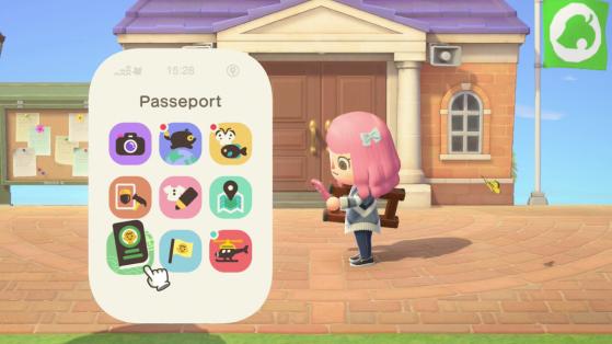 Animal Crossing: New Horizons - Lista de aplicaciones en el Nookphone