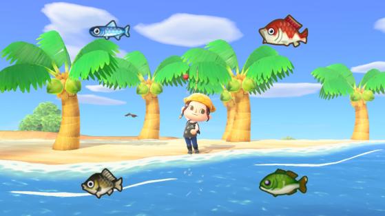 Animal Crossing New Horizons: lista de peces disponibles en marzo