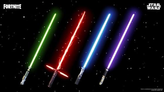 Fortnite x Star Wars: Las espadas láser vuelven a estar disponibles por tiempo limitado