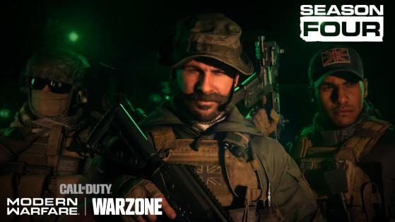 Modern Warfare Warzone: temporada 4, hoja de ruta y contenido