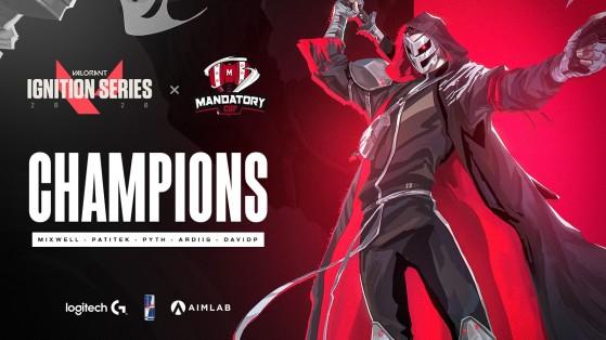 Valorant Ignition Series x Mandatory Cup: G2 Esports arrasa y se lleva el premio