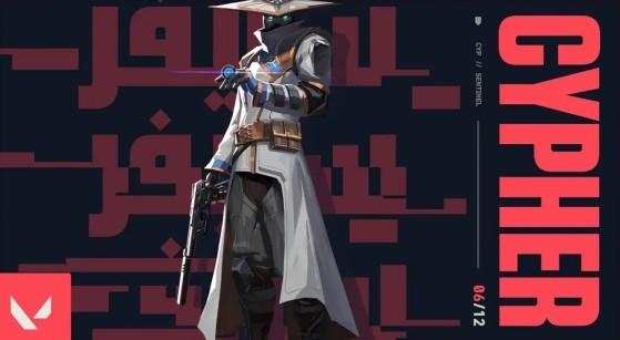 Cypher es el protagonista del competitivo de VALORANT - Valorant
