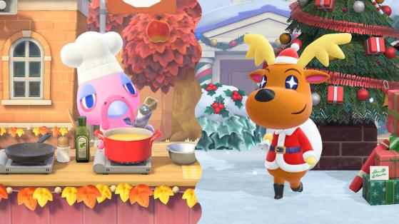 Animal Crossing New Horizons: actualización 1.6.0, de invierno y notas completas del parche
