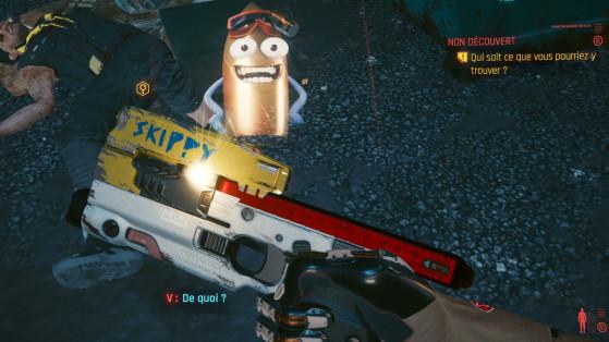 Cyberpunk 2077: cómo conseguir Skippy, el mejor arma del juego
