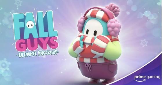 Fall Guys: Hay una skin navideña gratis para Prime Gaming, y así puedes conseguirla