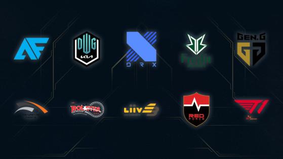LoL - LCK Spring Split 2021: Todas las plantillas de la liga de League of Legends de Corea del Sur