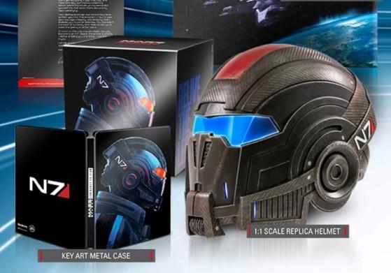 Mass Effect Legendary Edition tiene la edición coleccionista sin juego que todo fan de ME necesita