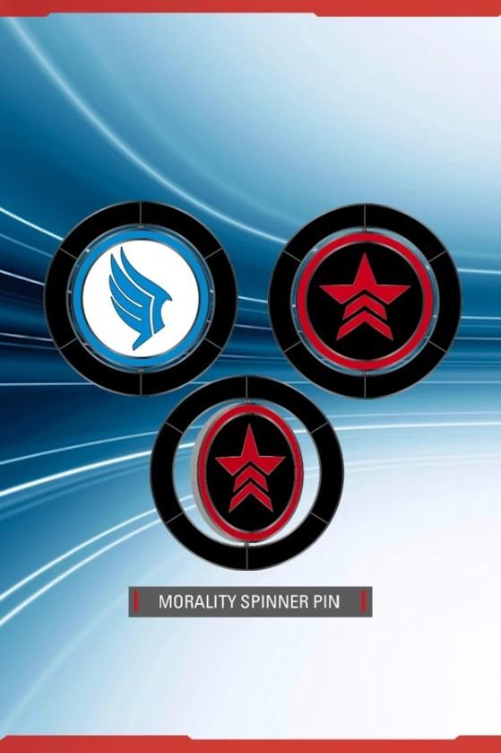 Pin de moralidad - Millenium