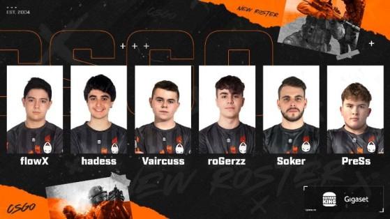 CSGO: x6tence vuelve al Counter-Strike español y con un proyecto de jóvenes promesas