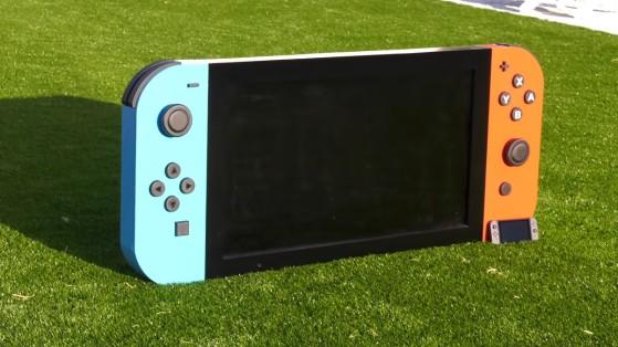 La Switch gigante con la que podría jugar Lady Dimitrescu y que hará felices a niños de un hospital