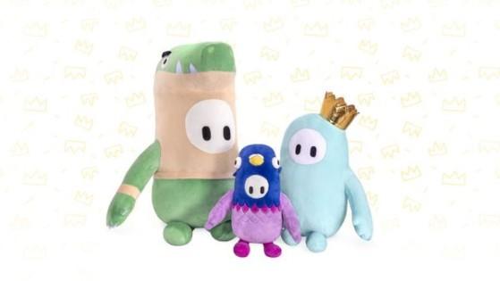 Fall Guys saltará de la pantalla con su propia línea de peluches y juguetes gracias a Moose Toys