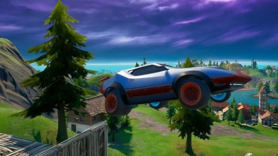 Fortnite: Consigue estar 2 segundos en el aire dentro de un vehículo , desafío de la temporada 6