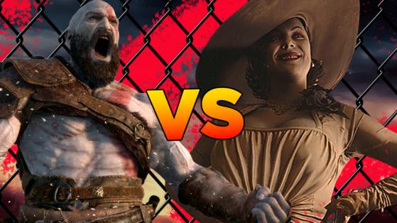 Lady Dimitrescu en Resident Evil 3... ¡y contra Kratos! La batalla de gigantes más loca de 2021