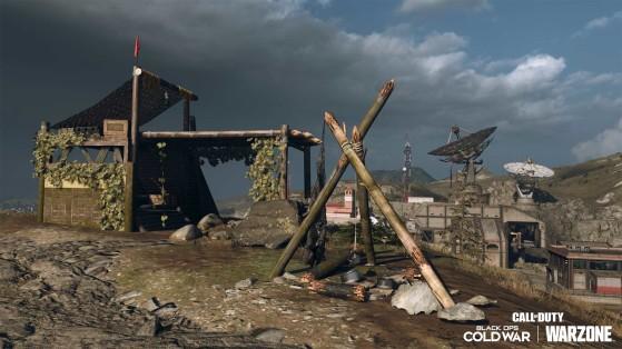 Warzone: Ubicación de los campamentos de supervivencia y del Nakatomi Plaza en el mapa