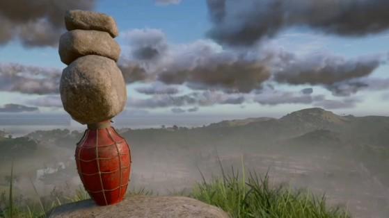 Un usuario de AC Valhalla descubre un truco de cerebro galaxia para los puzles de apilar piedras
