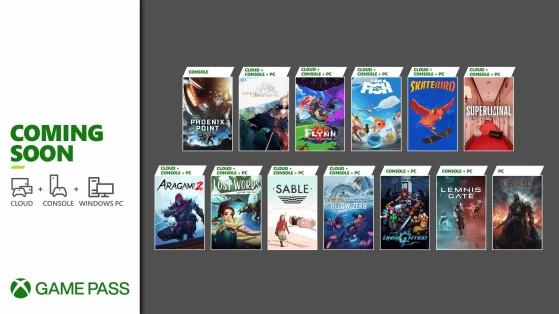 Xbox Game Pass recibe otra buena remesa de juegos en septiembre: Aragami 2, Sable y muchos más