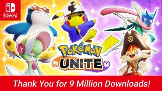 Pokémon Unite alcanza cifras estratosféricas en Nintendo Switch con más de 9 millones de descargas