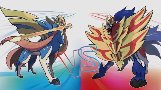 Pokémon Espada y Escudo: Diferencias entre las dos versiones