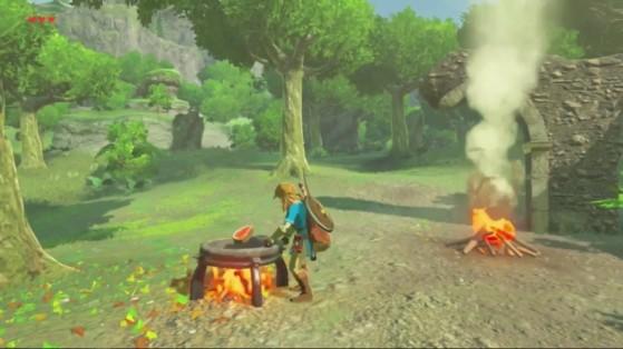 Guía de Zelda BotW: Recetas