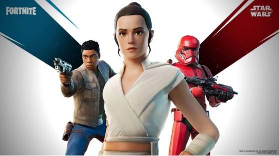 Fortnite x Star Wars: Pack Ascenso de Skywalker, skins de Rey, Finn y Sith Trooper en la tienda