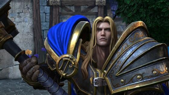 La edición física de Warcraft 3: Reforged de China contiene una estatua de Arthas Menethil