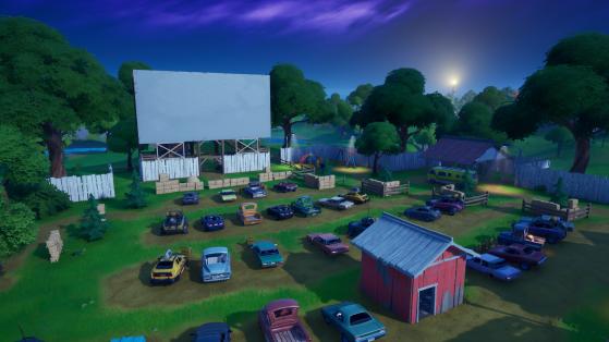 El cine al aire libre - Fortnite : Battle royale