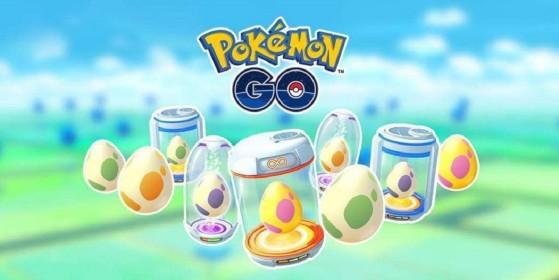 Huevos y su eclosión en Pokémon GO