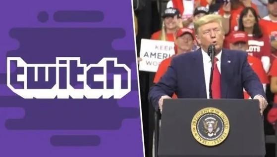 Twitch suspende el canal de Donald Trump y Reddit también le banea