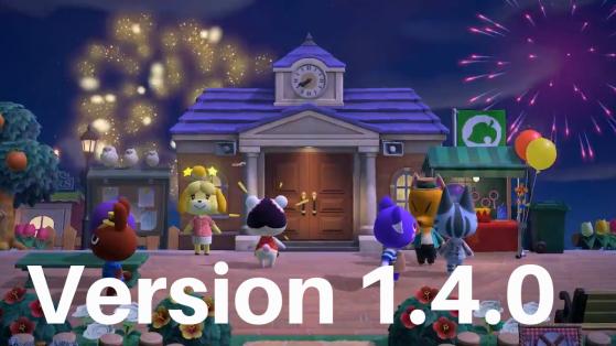 Animal Crossing New Horizons: actualización 1.4.0 notas del parche en español