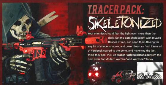 Modern Warfare Warzone: El pack de M4A1 con balas rojas salido del infierno para jugar a lo Doom