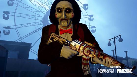 Warzone: Ubicación de todas las recompensas de Truco o Trato de Halloween, Haunting of Verdansk