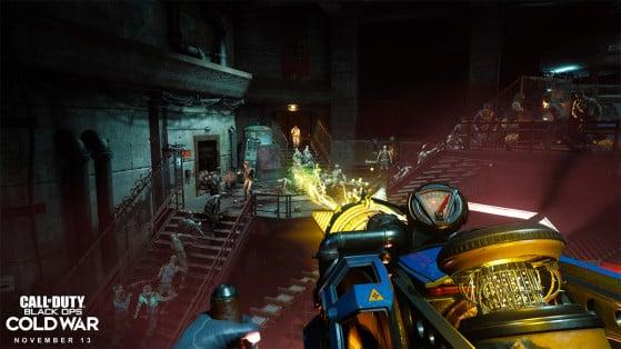 Black Ops Cold War: Cómo conseguir la D.I.E. Shockwave, el arma secreta del modo Zombis, guía